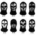 Skeleton Ghost Face Mask Skull Biker Balaclava Call of Duty CS Game COD Costume