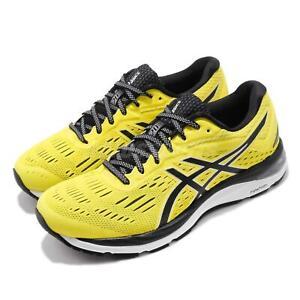 Asics Gel Cumulus 20 Lemon Spark Black Men Running Shoes Sneakers 1011A008-750