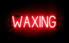 SpellBrite Ultra-Bright WAXING Sign (Neon look, LED performance)