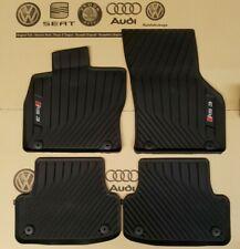 original Audi RS3 Fußmatten A3 8V Matten 4 Gummimatten vorne hinten rubber mats