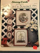 Stoney Creek Cross Stitch BOOK 142 Natures Bouquet Flowers Stars 12 Patterns