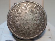 CIRA(40)(31) - 5 FRANCS - HERCULE - 1874 A - RARE FAUX D'EPOQUE ! POIDS 17,96gr
