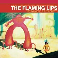 Yoshimi Battles The Pink Robots Red Vinyl 12 Inch Analog Flaming Lips LP Rec