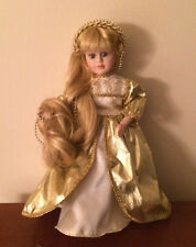 Rapunzel Porcelain 12 in Doll - Bradley's