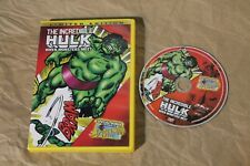 USED The Incredible Hulk - When Monsters Meet DVD Free Shipping!!