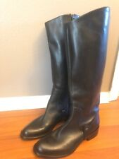 Via Spiga Boots Size 6M Womens Black Leather