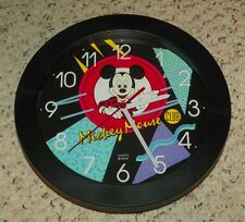 Walt Disney - Mickey Mouse Club Wall Clock / Wall Hanging