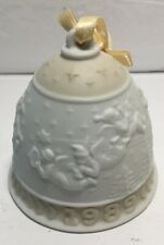 1989 Lladro Christmas Bell # 5616 Campanita Navidad with Box