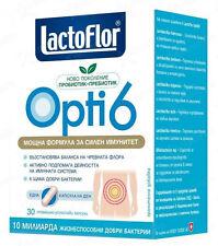 LACTOFLOR OPTI6 PROBIOTIC+PREBIOTIC - IMMUNITY/INFECTIONS/ANTIBIOTIC TREATMENT