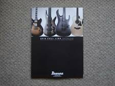 Catalog Ibanez 2016 Guitar based RG AR SV check Fujigen ESP