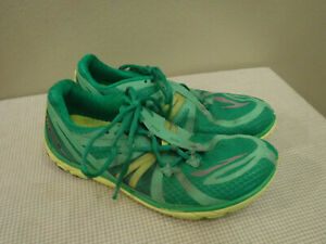 Men's BROOKS PURE CONNECT 2 8.5 42 Green Running Exercise Fitness Sneakers Shoes
