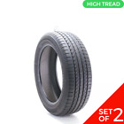 Set of (2) Used 225/55R19 Toyo A36 99V - 9-9.5/32