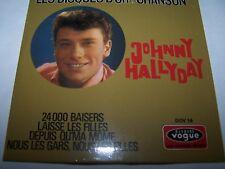 Johnny Hallyday : les disques d'or de la chanson (CD téléstar) 1