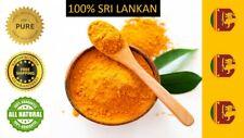 100% Pure  Sri Lankan (Ceylon) Turmeric Root Powder polvo de cúrcuma 100g