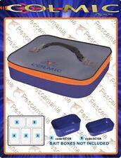 Bag Colmic PVC Waterproof Bait Box Holder Orange Series cm32, 5x26, 5x h. 6,5cm