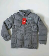 BNWT The North Face New Girls' Andes Goose Down Jacket Size Large (14/16) Grey