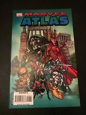 Marvel Atlas #1 A complete Guide to the Marvel Universe