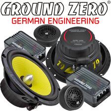 Ground Zero GZTC 165.2X 165mm 2 Wege Compo Lautsprecher Set 16,5 cm inkl. Gitter