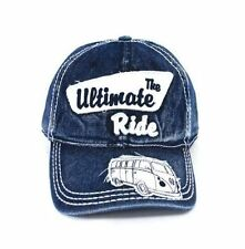 Baseball Cap T1 Camper Bus Blue Jeans Volkswagen VW Collection by Brisa  Buca01 991e75606e80
