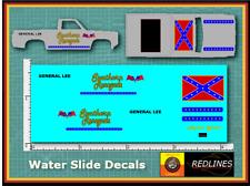 1/64 '83 Chevy Silverado 'Southern Renegade' CUSTOM Decal SCR-0280