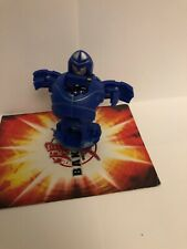Bakugan Elico Blue Aquos Element Change Special Attack & cards