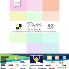 DCWV®️ MAT STACK - DCWV - 6 X 6 - PASTELS - DOUBLE SIDED (42 SH) PS-006-00116