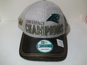 New Era 9Forty CAROLINA PANTHER'S Conference Champions 50th Super Bowl NWT