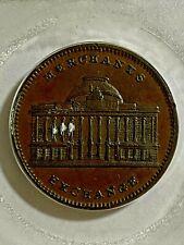 Hard Times Token NY Merchant's Exchange 1837 HT-294 XF