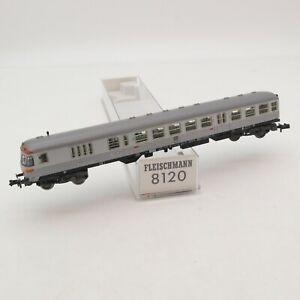 Fleischmann N 8120 Steuerwagen 2. Klasse der DB silberling in OVP RI6723
