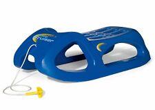 Rolly Toys Kinderschlitten mit Stahlschienen, Kunststoffschlitten, mit Zugschnur