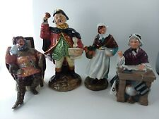 Lot 4 Royal Doulton 2162 Quart 2119 Town Crier 2223 Schoolmarm 1991 Country Lass