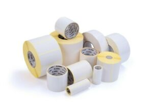 10x Compatible 50x25.4mm White Roll 1300 Labels ZA2X1-1300 for Zebra TLP 2684