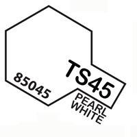 Peinture Spray Pour Plastique 100 Ml. Pearl Blanc Ts45 Tamiya