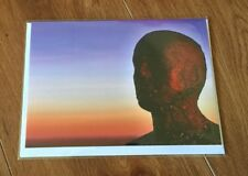 Antony Gormley's Another Place Iron Men Crosby Head Blank Greetings Card