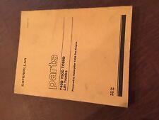 CATERPILLAR CAT T40D T50D TC60 LIFT TRUCKS  FORKLIFT PARTS MANUAL BOOK 2LC 9PB