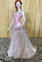 ROYAL DOULTON LADY PERFECT GIFT LYDIA MODEL No. HN 4409 PINK DRESS PERFECT