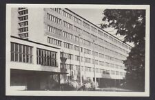 POLAND 1956 TWO UNUSED VIEWS BUILDINGS OF OPOLE REAL PHOTO POSTCARDS RPPCs