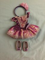 American Girl Wellie Wisher Doll Showtime Ballet Outfit Complete EUC Retired