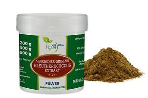 VITAIDEAL VEGAN® Eleutherococcus Wurzel Extrakt Pulver (Sibirischer Ginseng)