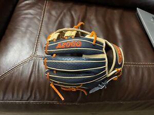 """Wilson A2000 DP15SS 11.5"""" Infield Baseball Glove (WBW100109115)"""