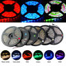 1M 5M SMD 5050 RGB Waterproof 300LED Flexible Tape Strip Light 12V White Lamp