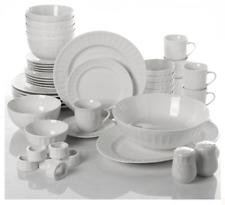 Dinnerware Set 46 Piece Plates Dishes Bowls Kitchen China Serveware Gibson Home