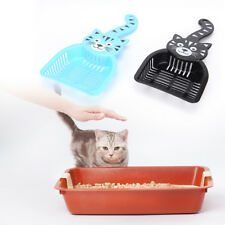 Newest Scoop Cat Litter Pet Plastic Dog Scooper Cleaning Tool Litter Scoop sT
