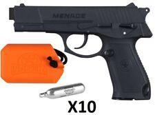 Pack Pistolet Paintball GI SPORTZ Menace Cal.50 + 10 cartouches CO2