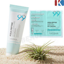 MISSHA Aqua Peptide Custom Skin Care 99 Cream 99% Moisture Full Cream Made KOREA