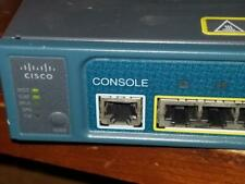Cisco Catalyst 3560 Series PoE-8 8-Port Fast Ethernet Switch WS-C3560-8PC-S