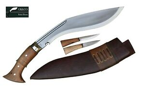 "12"" Blade WWI Historical Gurkha Kukri knife Handmade Nepal, by GK&CO.Kukri House"