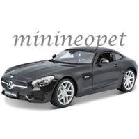 MAISTO 31398 MERCEDES BENZ AMG GT 1/18 DIECAST MODEL CAR BLACK