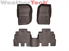 WeatherTech Floor Mats FloorLiner for Jeep Wrangler Unlimited -2014-2017 - Cocoa