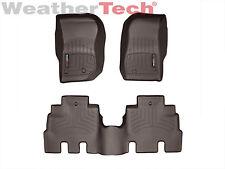 WeatherTech Floor Mats FloorLiner for Jeep Wrangler Unlimited -2014-2018 - Cocoa